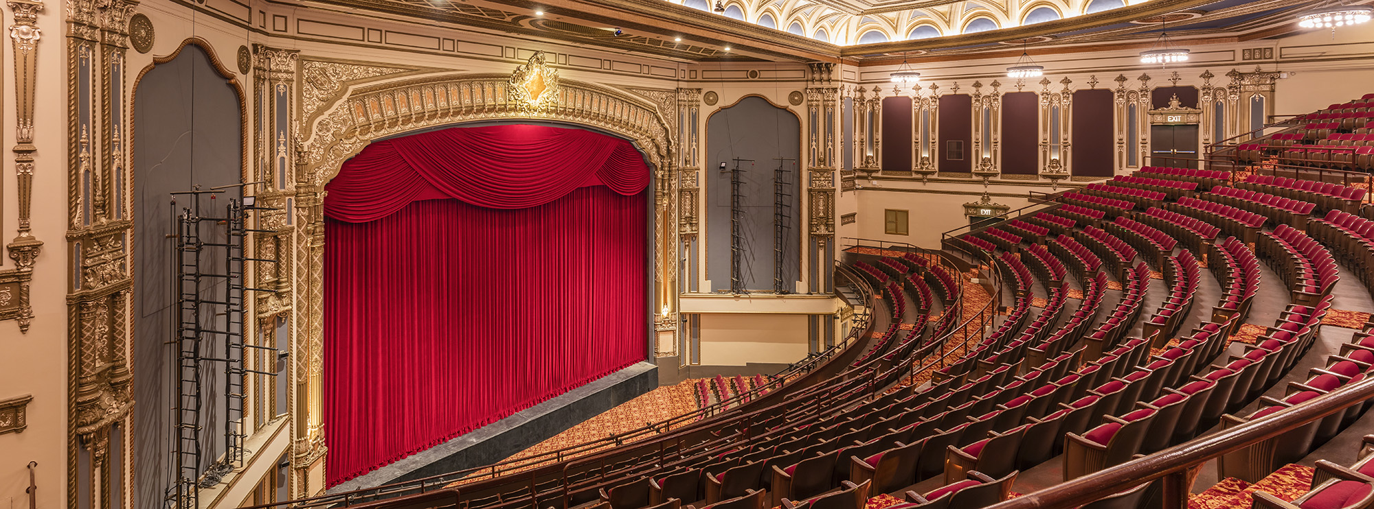 Golden Gate Theatre - Broadway in San Francisco on symphony orchestra seating, petco park seating, van andel arena seating,